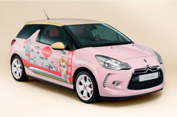 Citroen DS3 by Benefit 1 600x396 at One Off Citroen DS3 by Benefit Revealed