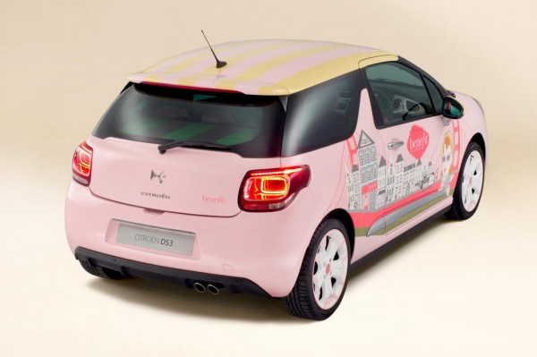 Citroen DS3 by Benefit 2 600x399 at One Off Citroen DS3 by Benefit Revealed