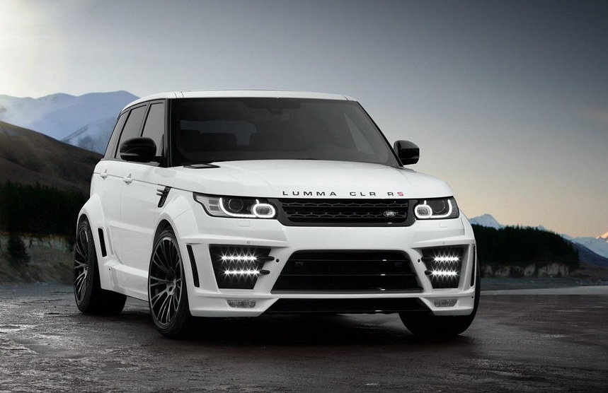 Lumma Clr Rs Based On 2014 Range Rover Sport