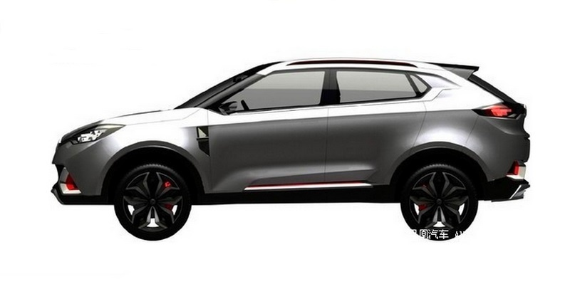 MG Crossover 0 at Production MG Crossover Revealed in Leaked Patents
