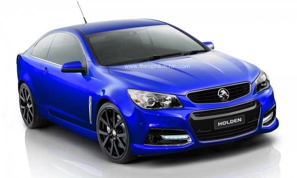 New Holden Monaro Render 1 600x360 at Rendering: New Holden Monaro