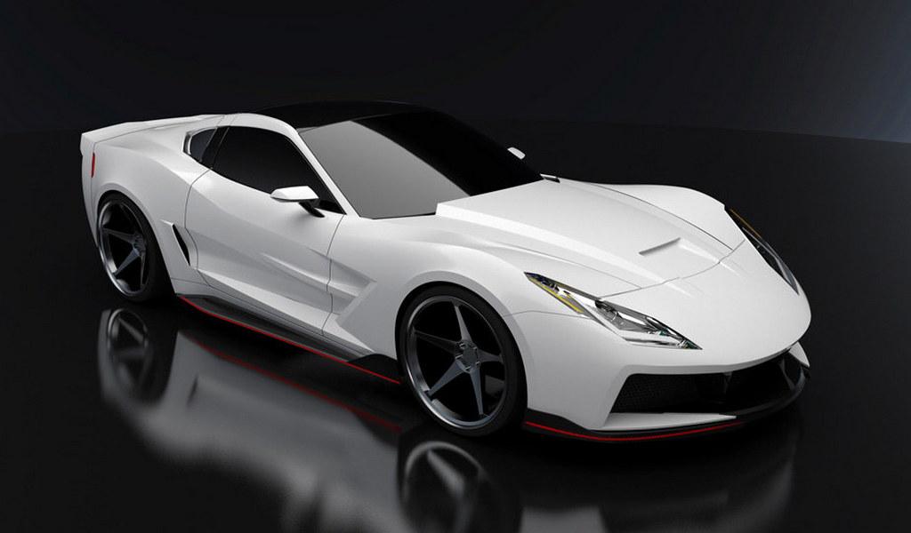 Supervettes Stingray Body Kit for Corvette C6
