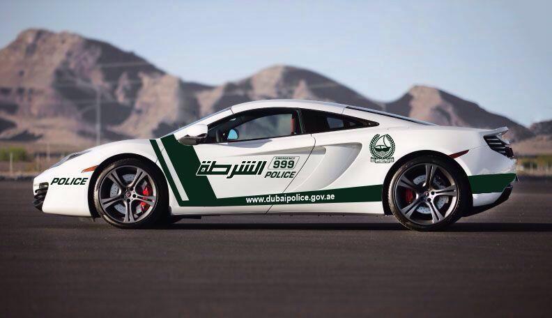 dubai police mclarn at Dubai Police to Get a McLaren 12C