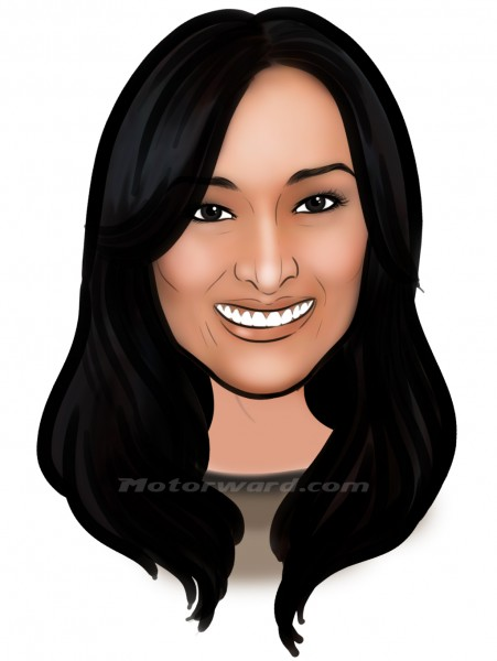 glory caricature MW 451x600 at Interview with Glory Fernandez   Exclusive