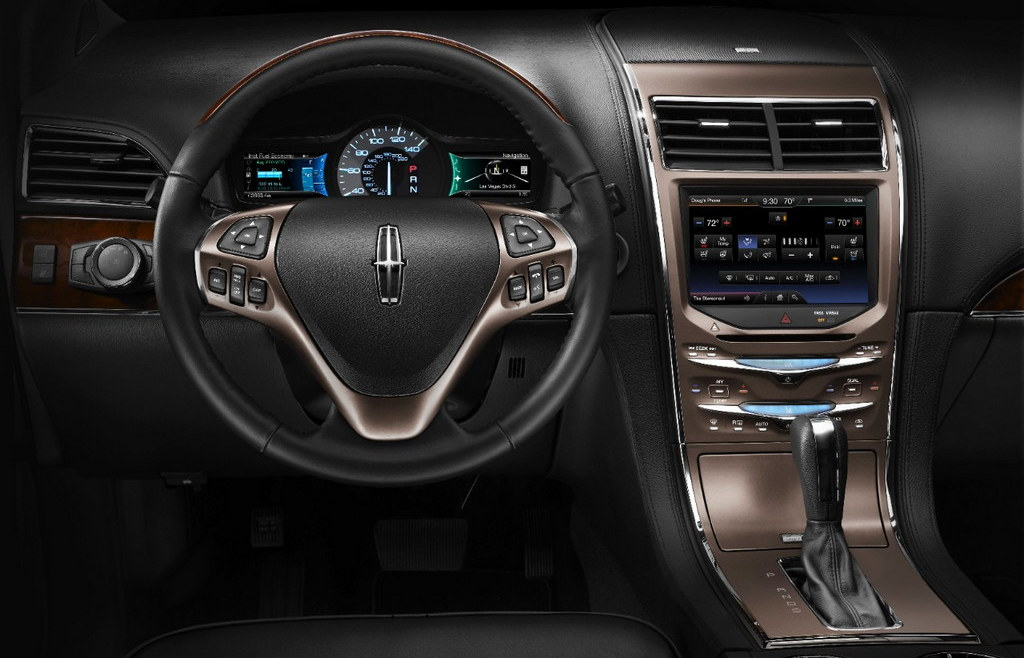 Tree Based Interior For 2014 Lincoln Mkx