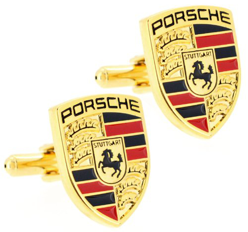 porsche cufflinks at Top 10 Christmas Gifts for Car Lovers