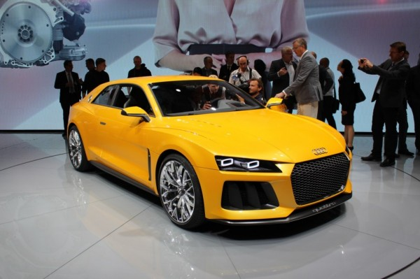 Frankfurt Motor Show Audi Quattro Concept 2013 600x399 at Audi Quattro, a Legendary Name in the Car Industry