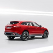 Jaguar C X17 Red 3 175x175 at Jaguar C X17 SUV Shows Up at Brussels Auto Show in Red