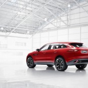 Jaguar C X17 Red 5 175x175 at Jaguar C X17 SUV Shows Up at Brussels Auto Show in Red