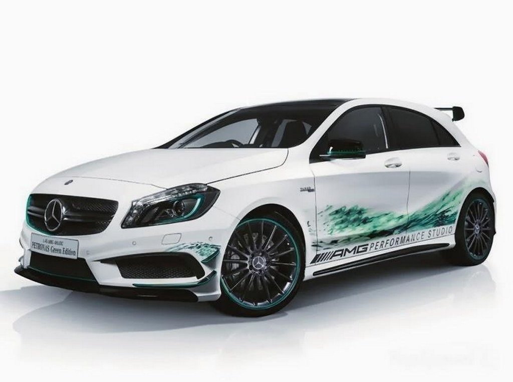 Dodge Aero >> Mercedes A45 AMG Petronas Edition Launched in Japan