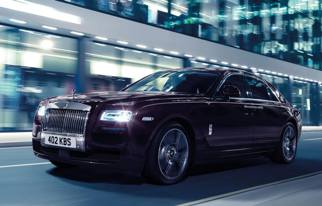 Rolls-Royce Ghost V-Specification: Details and Pictures