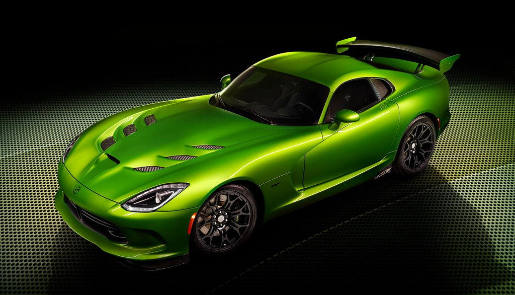 Stryker Green SRT Viper 1 at Stryker Green SRT Viper Revealed with GT Package