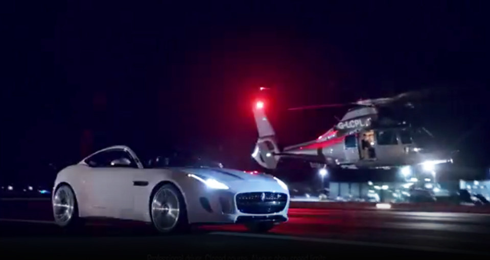 Jaguar 2014 Super Bowl Commercial British Villains