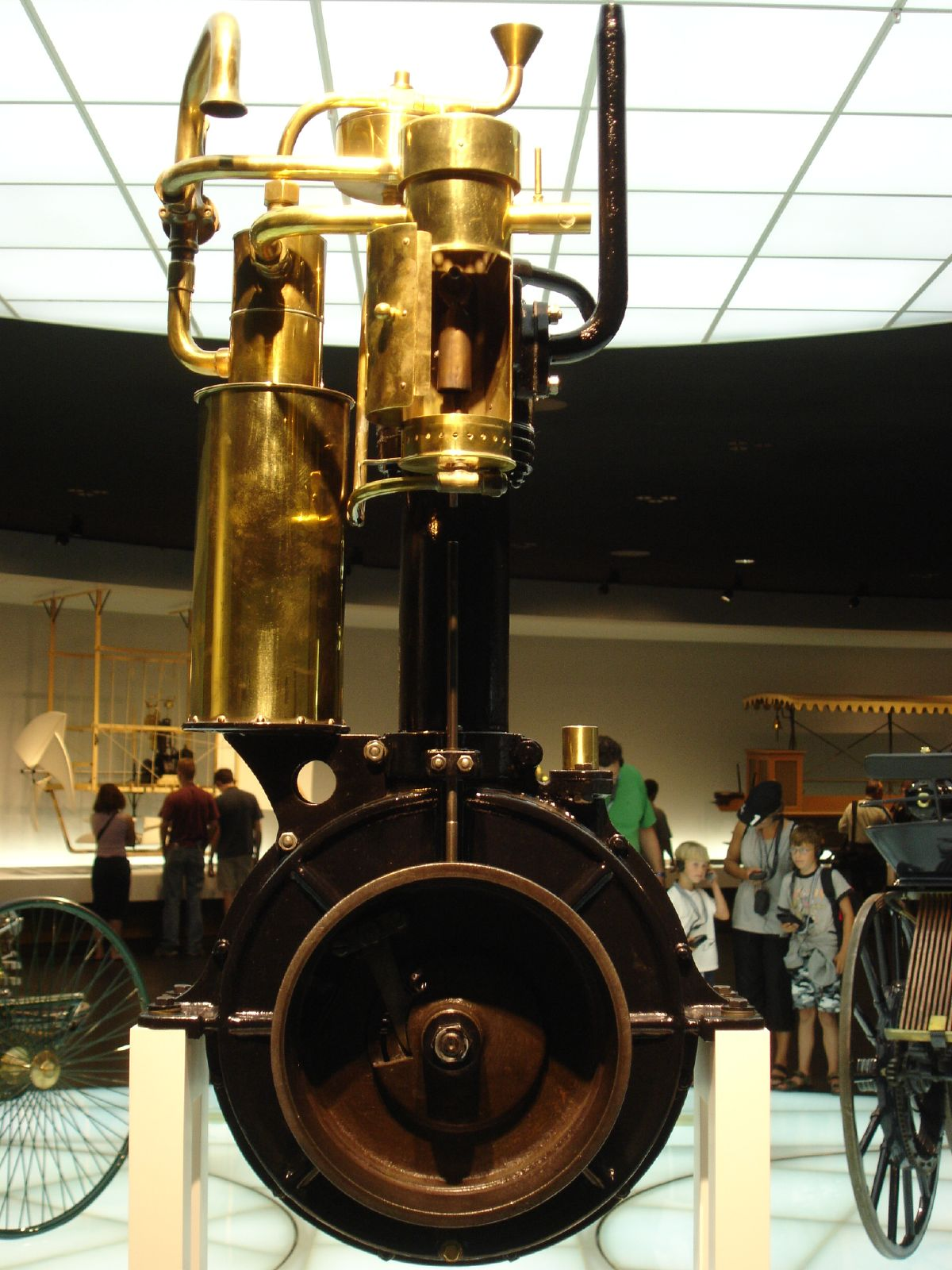 Daimler Maybach Grandfather Clock Engine at Maybach is Gone. What's Left Behind?