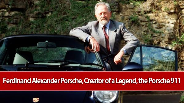 Ferdinand Alexander Porsche 911 at Ferdinand Alexander Porsche, Creator of a Legend, the Porsche 911