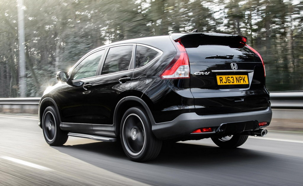 Honda CR-V Black and White Editions (UK)