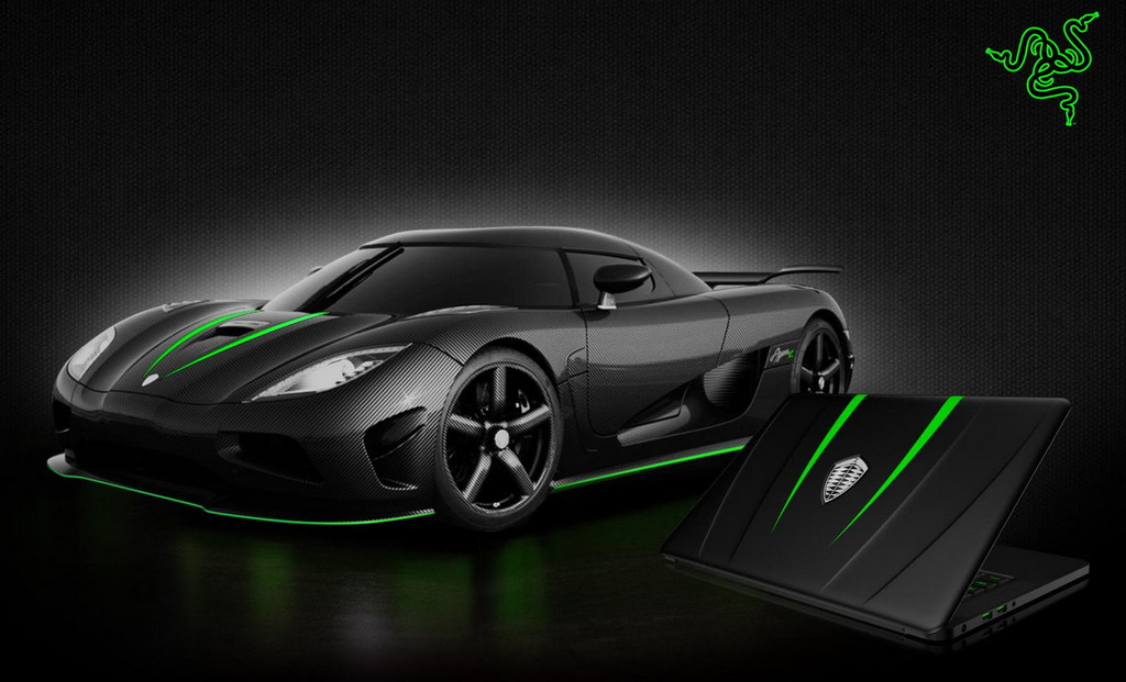 Koenigsegg Razer Blade Laptop Announced