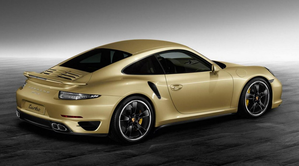 Lime Gold 911 Turbo By Porsche Exclusive