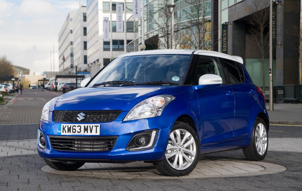Suzuki Swift SZ L 0 at Suzuki Swift SZ L Announced for British Market