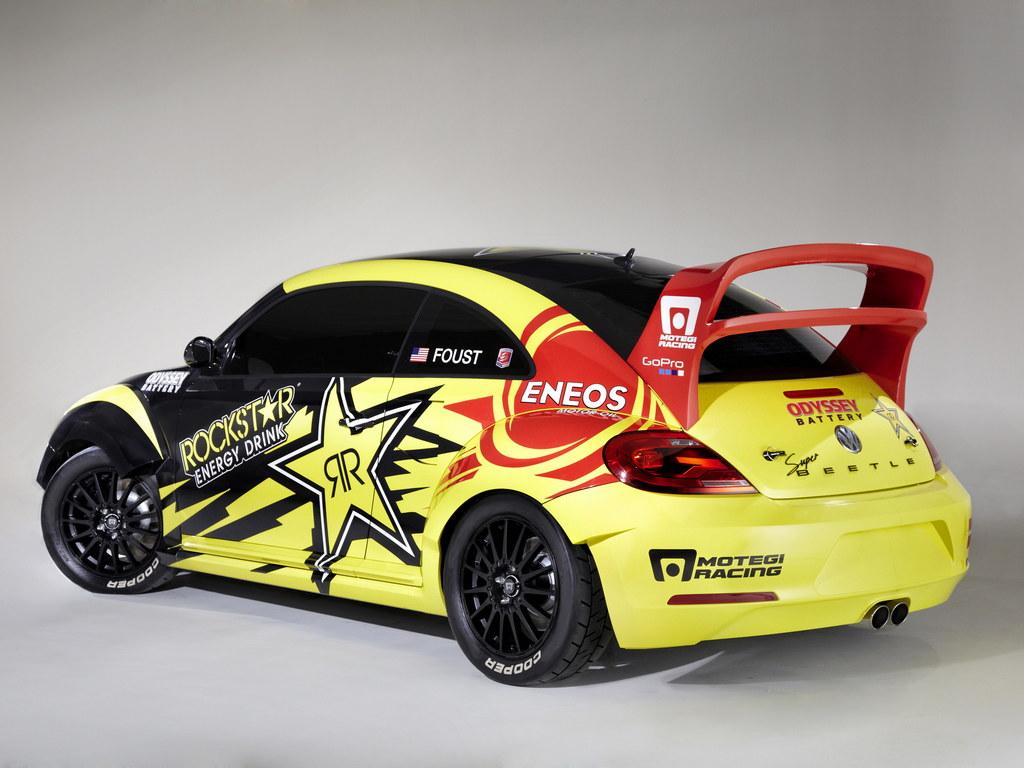Tanner Foust Vw >> VW Beetle Rallycross Car for Tanner Foust