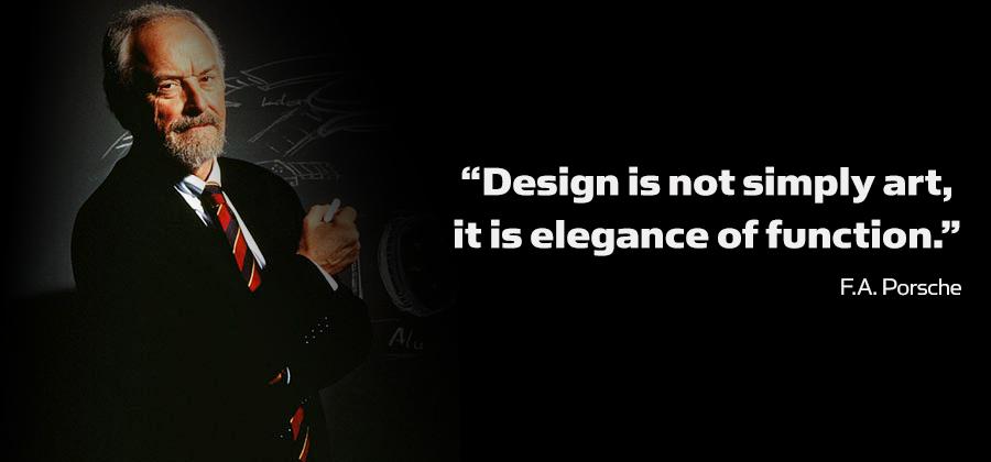 fa porsche quote at Ferdinand Alexander Porsche, Creator of a Legend, the Porsche 911
