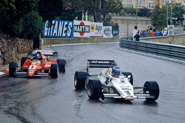 1983 Monaco Grand Pri 600x399 at Most Exciting Wet Races in Formula One History