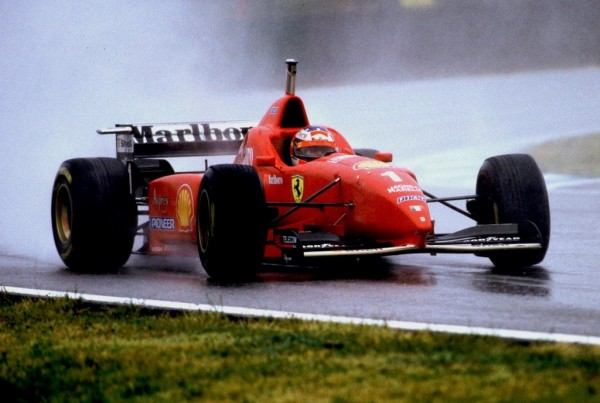 1996 Spanish Grand Prix 600x403 at Most Exciting Wet Races in Formula One History