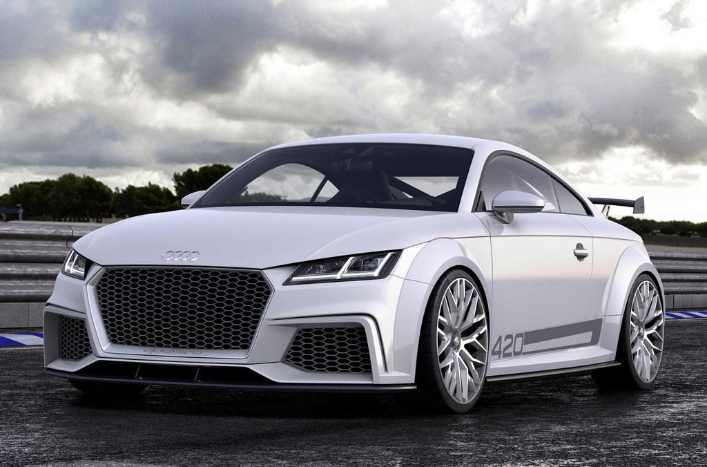 Geneva 2014 Audi Tt Quattro Sport Concept