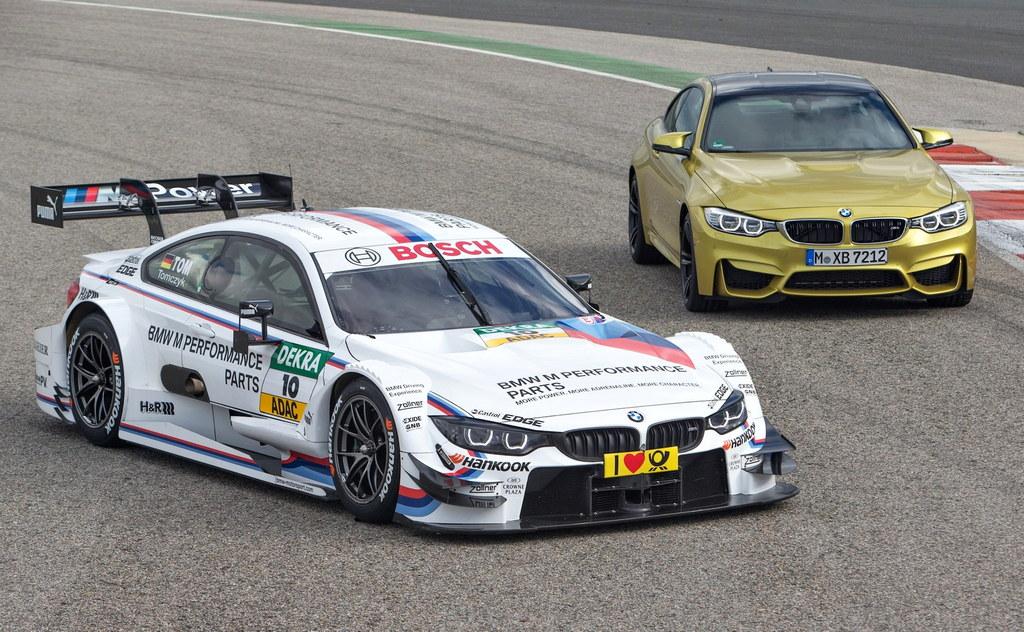 Bmw M4 Dtm Race Car Unveiled