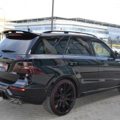 Brabus Mercedes ML63 AMG 4 175x175 at Brabus Mercedes ML63 AMG with 700 Horsepower
