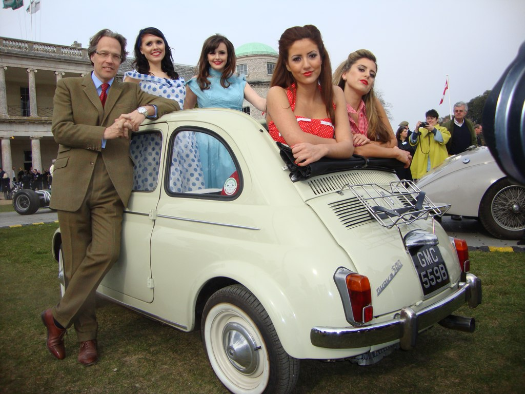 Fiat 600 Lord March at The Fascination Behind Goodwood Festival of Speed