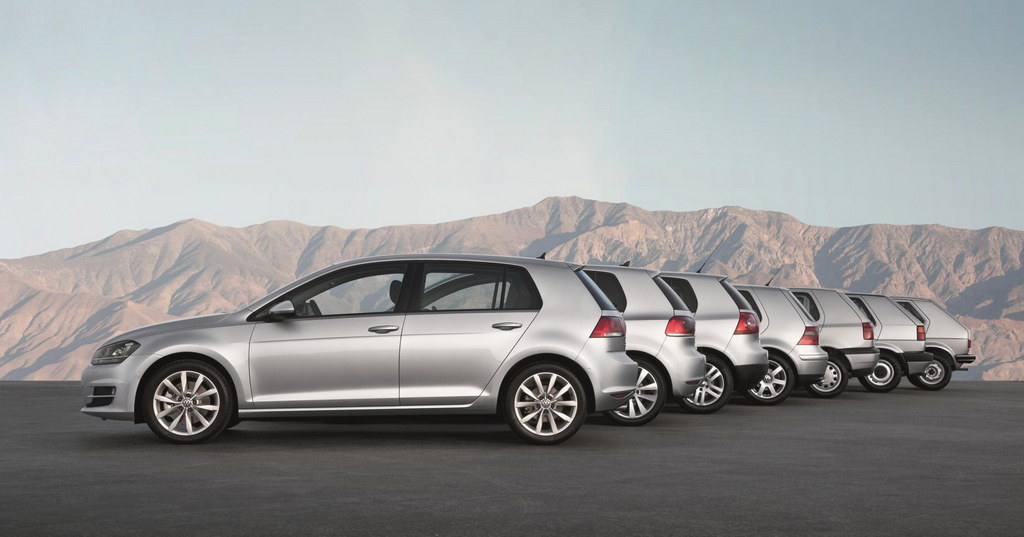 Volkswagen Golf 40 Anniv 0 at Volkswagen Golf: The Hatchback King Turns 40