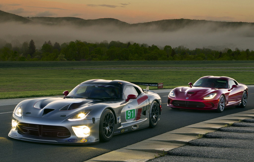 srt viper gts r at 2014 Le Mans: SRT Viper Is Out