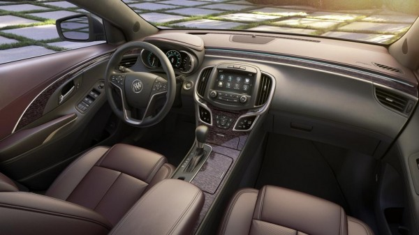 2014 Buick LaCrosse Luxury Interior 1 600x337 at 2014 Buick LaCrosse Luxury Interior Detailed
