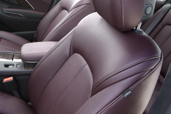 2014 Buick LaCrosse Luxury Interior 2 600x400 at 2014 Buick LaCrosse Luxury Interior Detailed