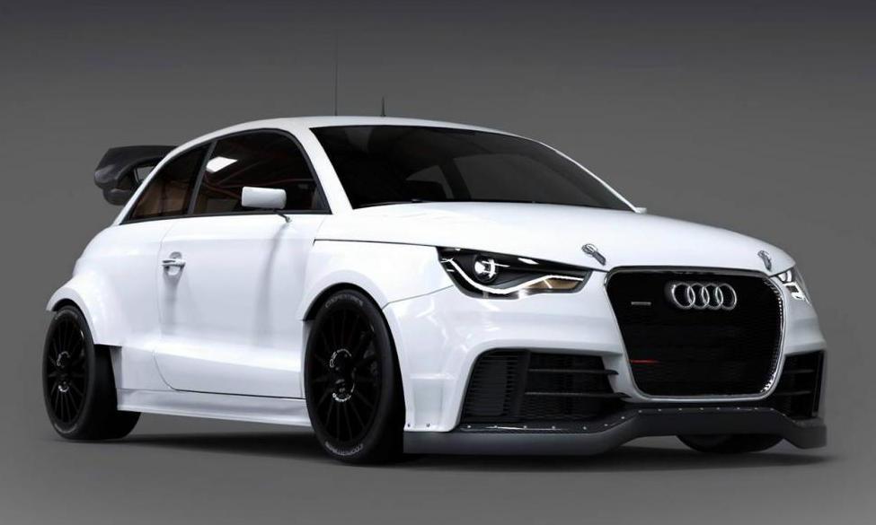 Eks Audi S1 Rx Rallycross Unveiled