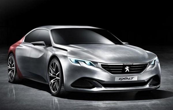 Peugeot Exalt Concept 600x381 at Peugeot Exalt Concept Revealed Ahead of Beijing Debut
