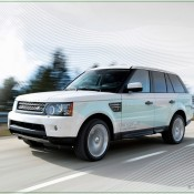 2010 Land Rover range e prototype Front Side 175x175 at Land Rover History and Photo Gallery