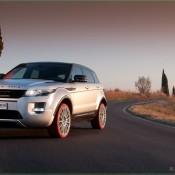 2011 Marangoni Range Rover Evoque Front Side 2 175x175 at Land Rover History and Photo Gallery