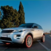 2011 Marangoni Range Rover Evoque Front Side 3 175x175 at Land Rover History and Photo Gallery