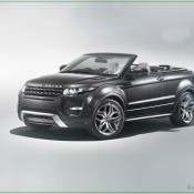 2012 Land Rover Evoque Convertible Concept Front Side 175x175 at Land Rover History and Photo Gallery