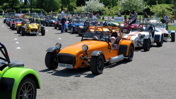 Caterham Seven Gathering 2 600x337 at Large Caterham Seven Gathering to Assemble at Throckmorton