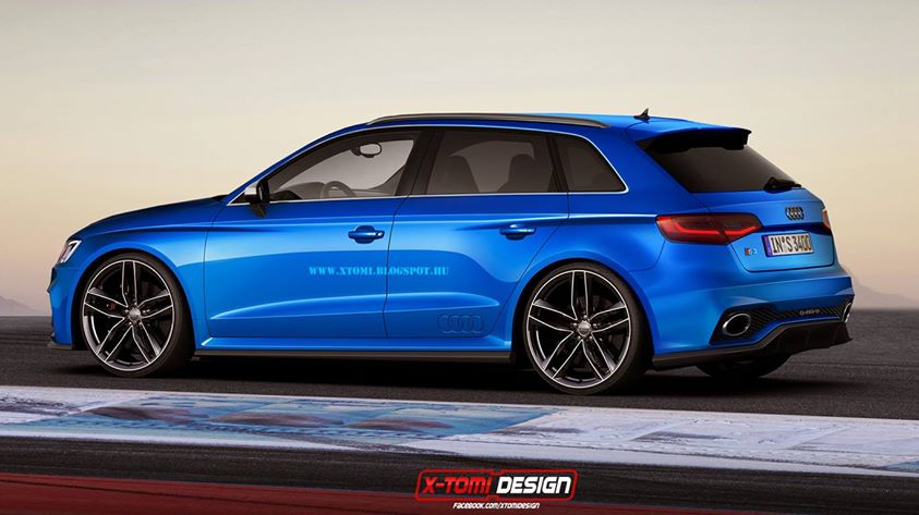 Audi A3 Clubsport Quattro Rendered As Sportback