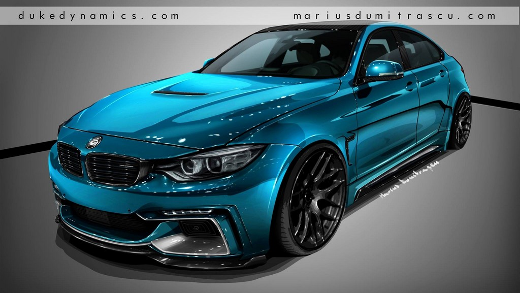 Duke Dynamics Bmw 4 Series Gran Coupe Preview