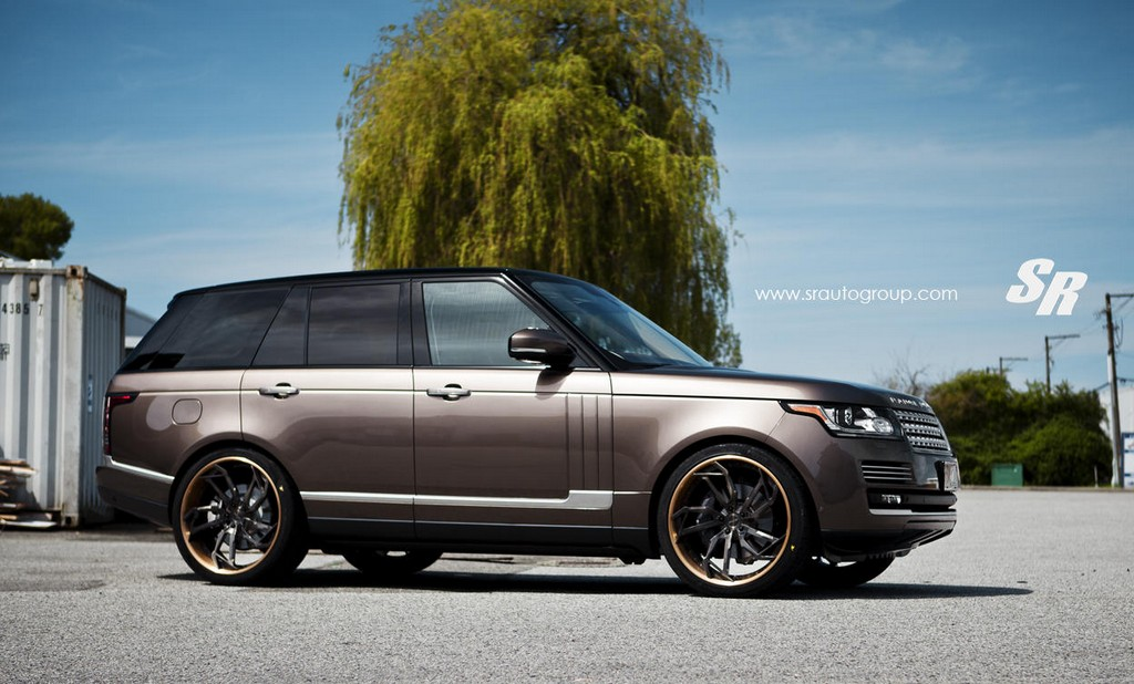 Range Rover Vogue Autobiography 2017 >> Eye Candy: Hazelnut Brown Range Rover on PUR Wheels