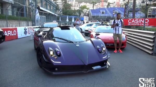 Lewis Hamilton Pagani Zonda 600x333 at Lewis Hamilton's Pagani Zonda 760 LH Spotted in Monaco