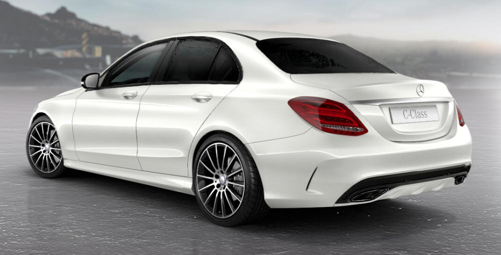 Mercedes C Class Night Package Details Revealed