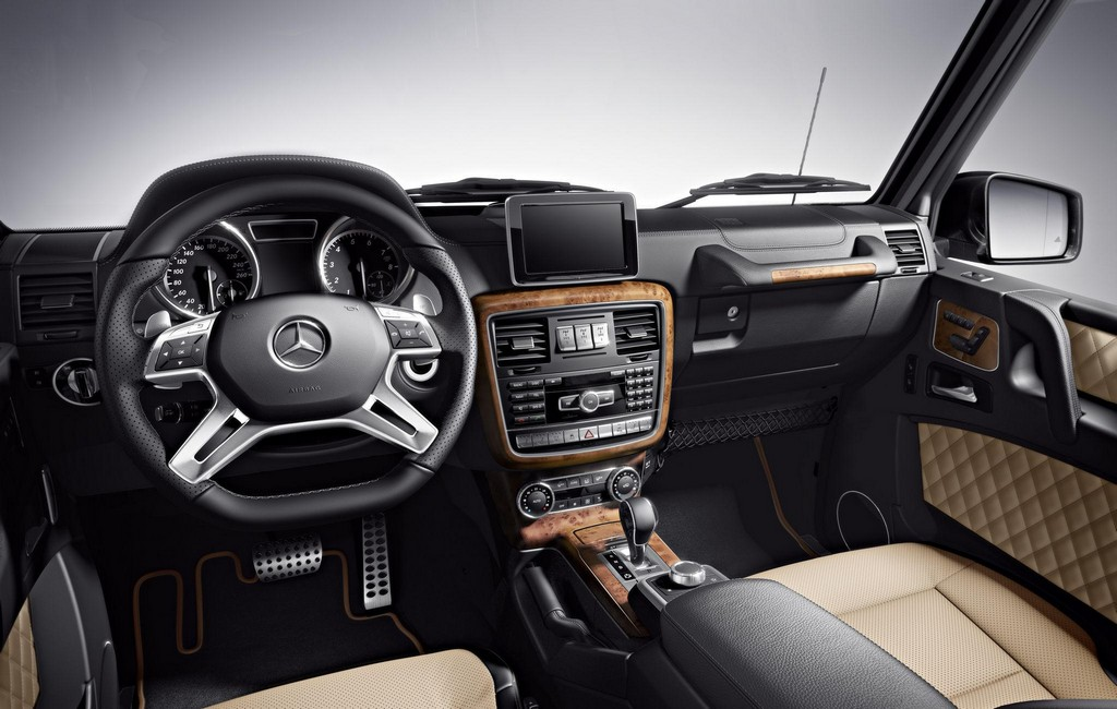 Mercedes G Class Designo Interior Options Detailed