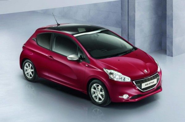 Peugeot 208 Style 600x396 at Peugeot 208 Style: Pricing and Specs