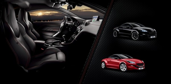 Peugeot RCZ Red Carbon bt 600x294 at Peugeot RCZ Red Carbon Special Edition Announced